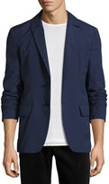 Robert Graham R by Frenchie Two-Button Blazer, Navy