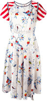 Antonio Marras multi-print flared dress - women - Polyester/Spandex/Elastane/Cupro - 42