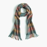 J.Crew HogarthTM for Scottish tartan cashmere scarf