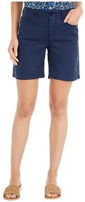 NYDJ Five-Pocket Shorts in Evening Tide (Evening Tide) Women's Shorts