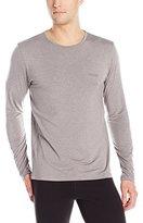 HUGO BOSS Men's Ls-Shirt Rn Thermal+ 10194699 01