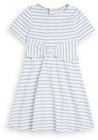 Kate Spade Girl's Kammy Striped Bow Dress
