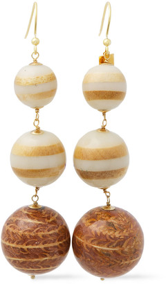 Rosantica Senape Gold-tone Bead Earrings