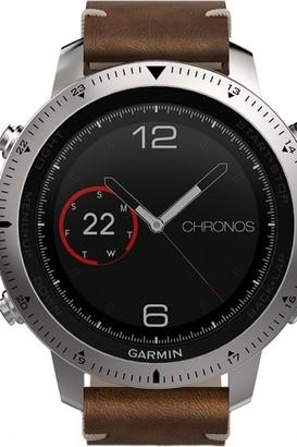 Garmin Mens Fenix Chronos Bluetooth GPS HR Alarm Chronograph Watch 010-01957-00