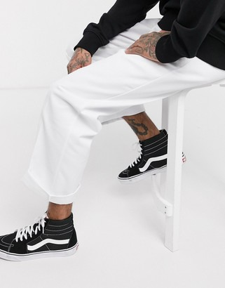 Dickies 874 straight fit work pant in white