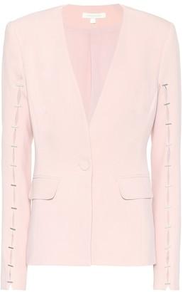 Jonathan Simkhai Embellished crepe blazer