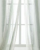 "Creative Threads Each 54""W x 108""L Shimmer Stripe Linen Sheer"