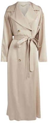 Magda Butrym Silk Trench Coat