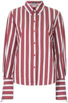 Jil Sander Navy striped fitted shirt