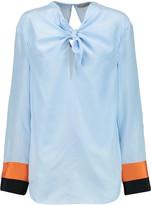 Emilio Pucci Knotted silk top