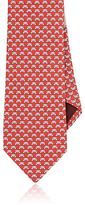 Salvatore Ferragamo Men's Teddy-Bear-Print Silk Necktie