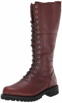 "Harley-Davidson Women's Rr-Walfield/Rust 14"" Lace Up Boot"