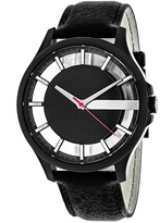 Giorgio Armani Exchange Classic AX2180 Men's Black Ion-Plated Stainless Steel Watch