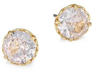 Kate Spade Round Faceted Mini Stud Earrings