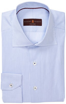 Robert Talbott Tailored Fit Micro Stripe Dress Shirt