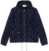 Gucci Bee star nylon jacket