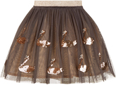 Monsoon Disco Sequin Swan Skirt