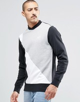 Reebok Retro Crew Sweatshirt In Gray AY1217