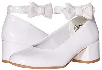 Rachel Janet (Little Kid/Big Kid) (White Patent) Girl's Shoes