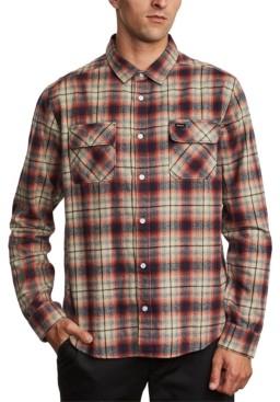 RVCA Men's Hostile Flannel Shirt