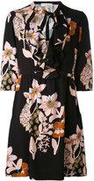 L'Autre Chose floral print dress - women - Polyester/Spandex/Elastane - 42