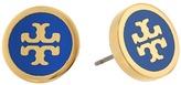 Tory Burch Lacquered Logo Studs Earrings Earring