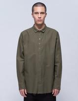 Publish Xander 12 Button Raw Edge Shirt