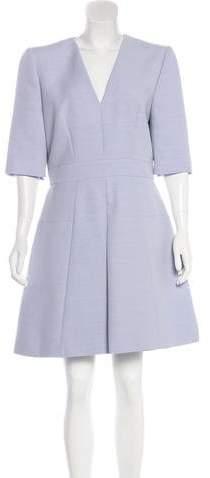 Alexander McQueen Structured A-Line Dress w/ Tags