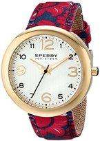 Sperry Women's 10014921 Sandbar Analog Display Japanese Quartz Red Watch