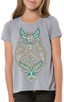 O'Neill Girl's 'Woodblock Owl' Graphic Tee
