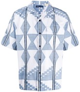 Levi's Made & Crafted short sleeve geometric print shirt