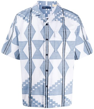 Levi's Made & Crafted Short Sleeve Geometric Print Shirt