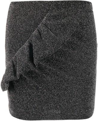 IRO Ruffle Mini Skirt