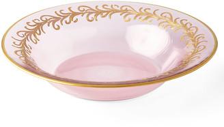 Neiman Marcus Blush Oro Bello Soup Bowls, Set of 4