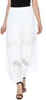 Tribal White Embroidered Skirt