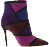 Roberto Festa Women's Maelle Patchwork Stiletto Ankle Boot