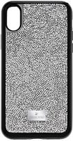 Swarovski Glam Rock Smartphone Case with Bumper, iPhone® X, Gray