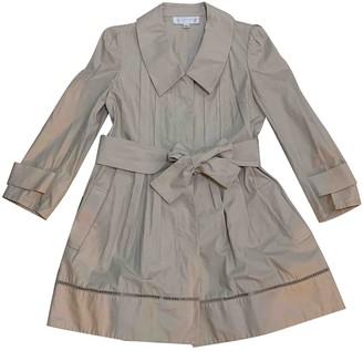 Jill Stuart Beige Cotton Trench Coat for Women