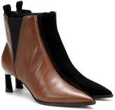 Mercedes Castillo Eletta leather ankle boots