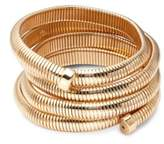 Kenneth Jay Lane Five-Row Coil Bracelet
