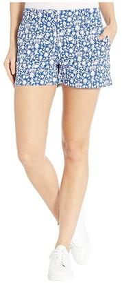 Vineyard Vines Otomi Print 3.5 Shorts (Royal Ocean) Women's Shorts