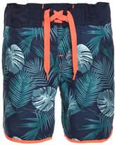 Name It Botanical Print Swim Shorts