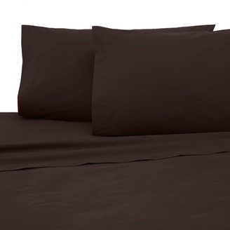 Martex Cotton Rich 225 Thread Count King Chocolate Sheet Set - Multiple Colors & Sizes Available