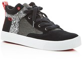 Toms Camila Keith Haring Chalkboard Print Mid Top Sneakers