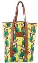 Proenza Schouler Floral Printed Shopping Tote