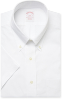 Brooks Brothers Solid Button Down Dress Shirt