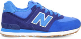 New Balance 574 suede and mesh trainers 9-10 years