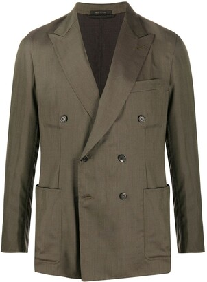 Brioni Double-Breasted Blazer Jacket