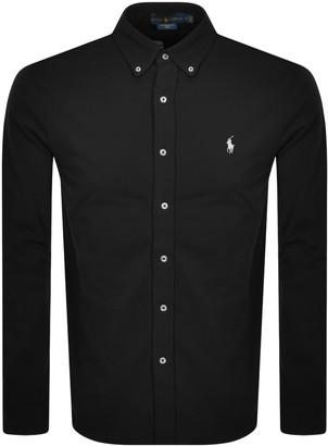 Ralph Lauren Featherweight Mesh Shirt Black
