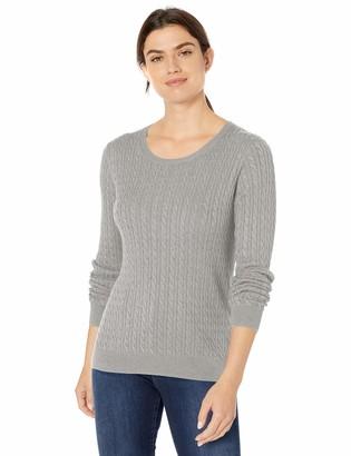 Amazon Essentials Women's Standard Lightweight Cable Crewneck Sweater
